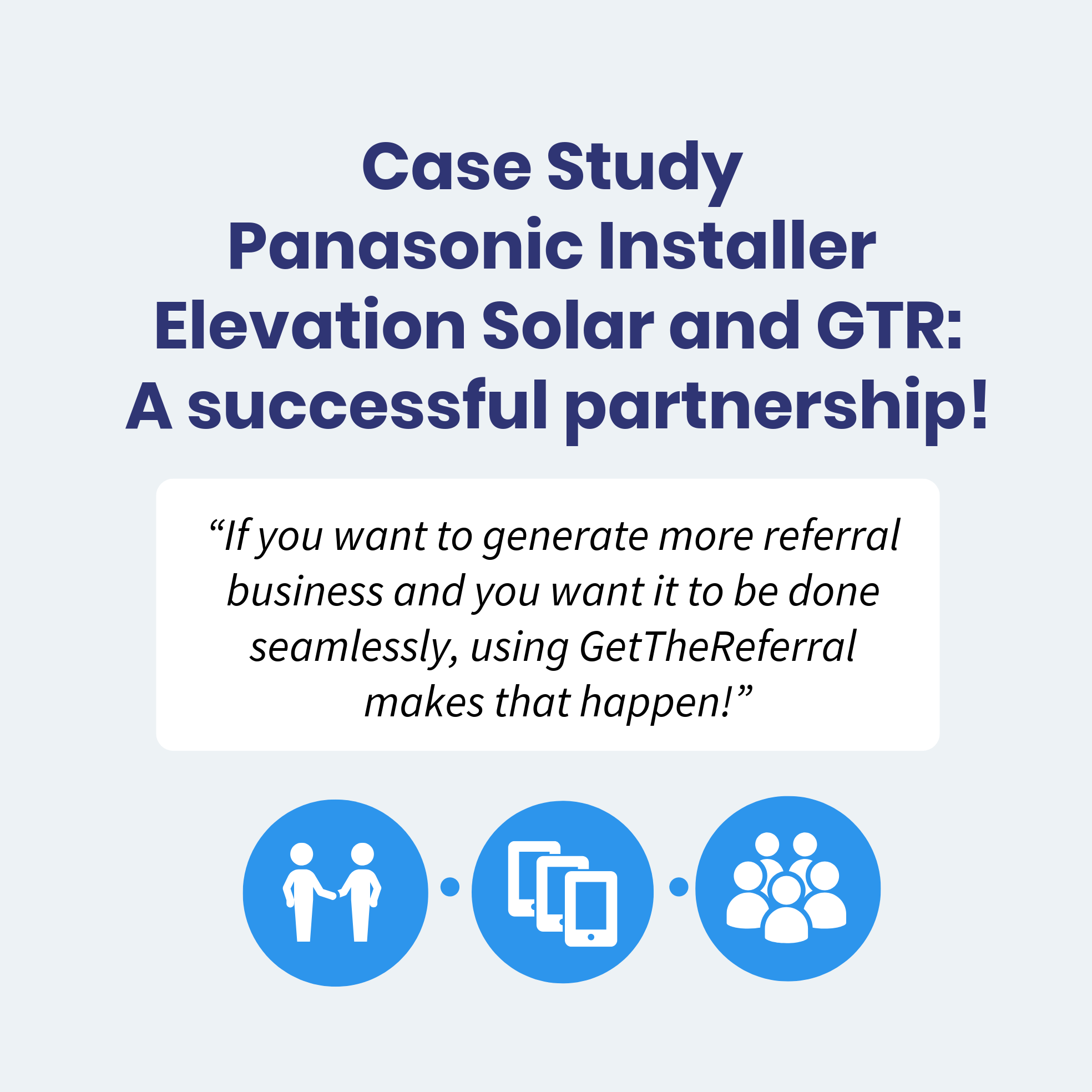 Panasonic Solar Referral Marketing Case Study