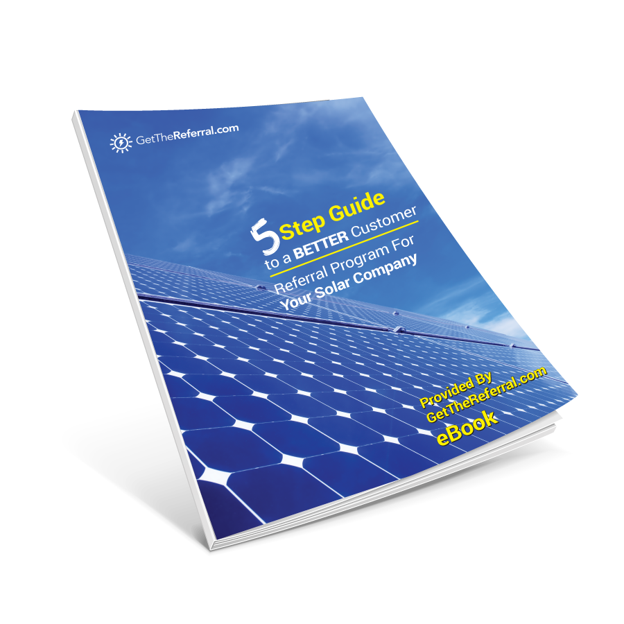 Customer Referral Guide For Solar Companies