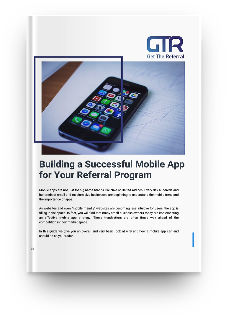 Referral Mobile Software | GetTheReferral com