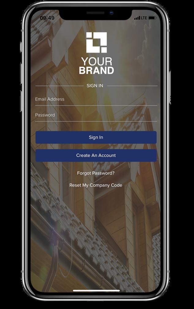 Your Brand Homescreen
