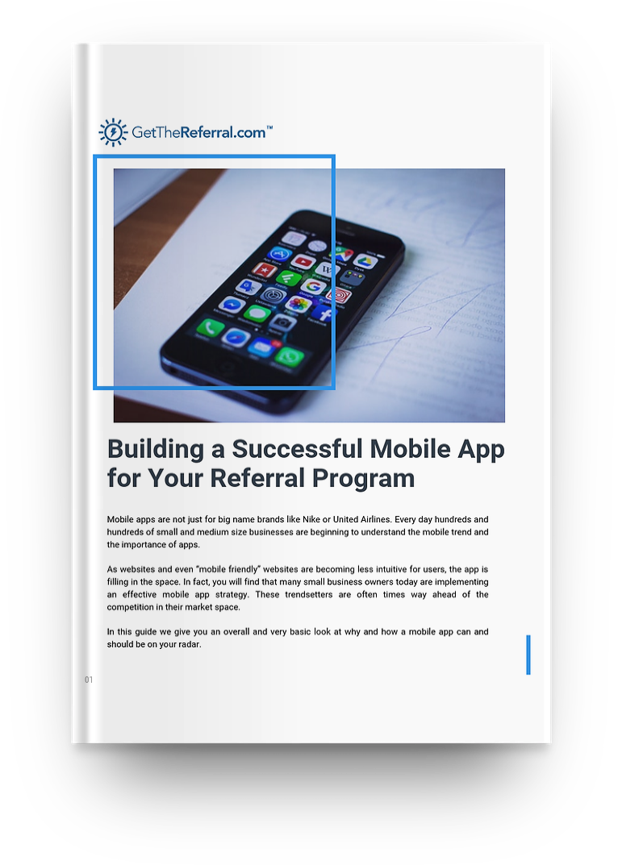 Referral Mobile App | GetTheReferral com