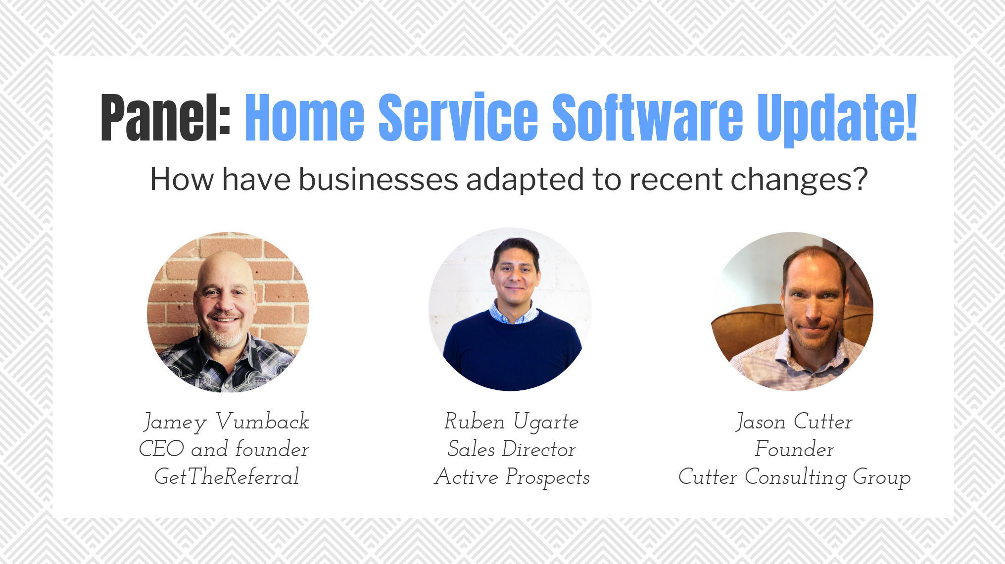 Panel: Home Service Software Update